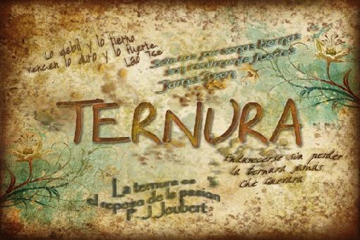 Poster Celebrando La Ternura